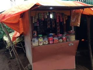 kiosk selling consumer items